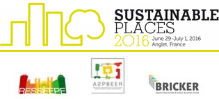 BRICKER @ Sustainable Places 2016