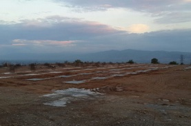 Turkish demo site: solar field shaping up and façade insulation in the starting blocks
